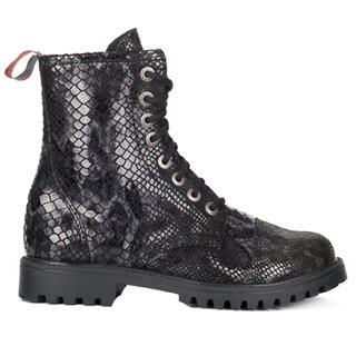 Aderlass Leather Boots - 8-Eye Snake