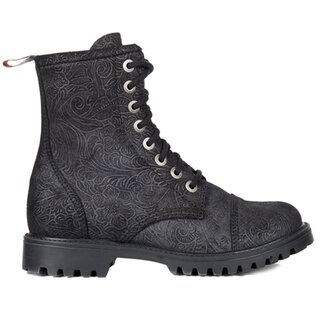 Aderlass Leather Boots - 8-Eye Brocade