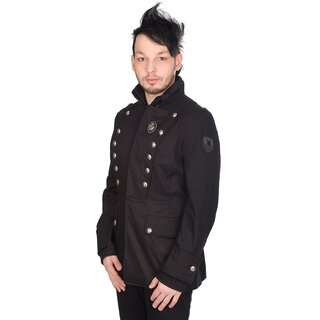 Aderlass Gothic Jacke - Military Jacket Denim