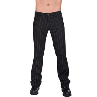 Aderlass Jeans Trousers - Steampunk Pin Stripe