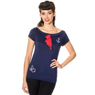 Dancing Days Top - Freyja Blue
