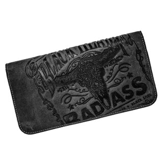 Jacks Inn 54 Leather Wallet - Black Bourbon Street Black