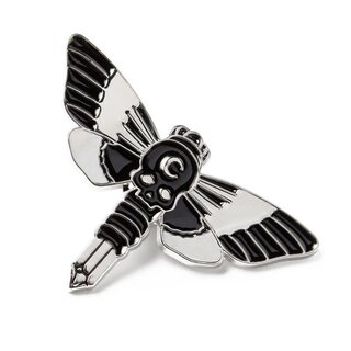Killstar Enamel Pin - Moth Crystal