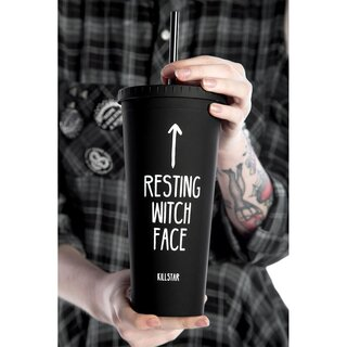 Killstar Reisebecher - Resting Witch Face