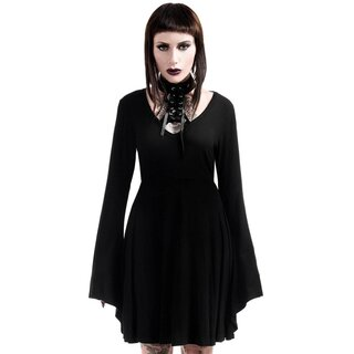 Killstar Gothic Kleid - Spyda Lace-Me-Up