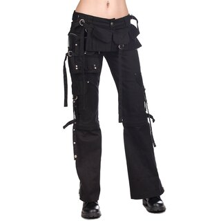 Black Pistol Ladies Jeans Trousers - Belt Bag Denim
