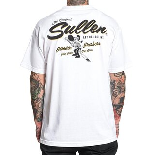 Sullen Clothing T-Shirt - Cheezy-E Weiß