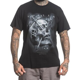 Sullen Clothing T-Shirt - Silver Badge