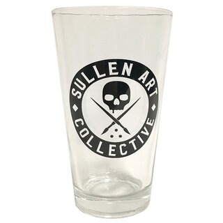 Sullen Clothing Pint Glass - Badge of Honor