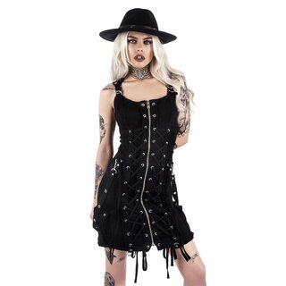 Killstar Denim Kleid - Sinder Hella Burner