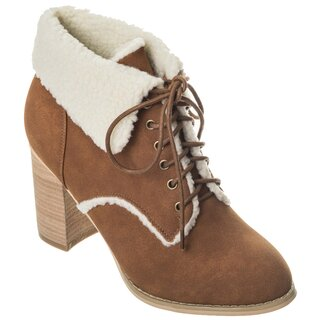 Dancing Days Winter Ankle Boots - Fill Your Heart Brown