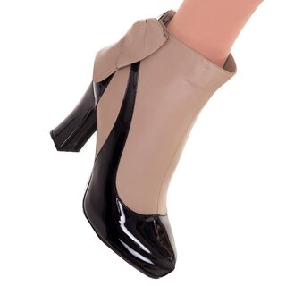 Banned Faux Leather Boots  - Sadie Taupe