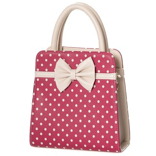 Dancing Days Handbag - Carla Burgundy