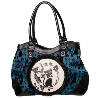 Dancing Days Handbag - Call Of The Phoenix Turquoise