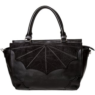 Banned Handbag - Black Widow