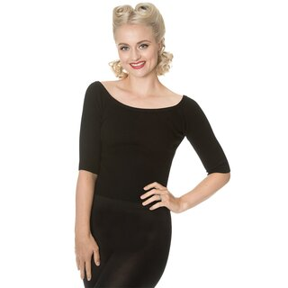 Dancing Days Vintage Jumper - Wickedly Wonderful Black