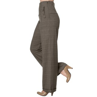 Dancing Days Marlene Trousers - Style Crush Brown