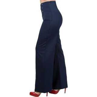 Dancing Days Marlene Trousers - Stay Awhile Navy