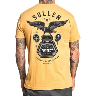 Sullen Clothing T-Shirt - Bound By Blood Mustard