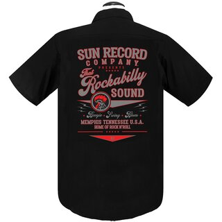 Sun Records by Steady Clothing Worker Hemd - That...