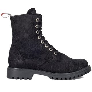 Aderlass Boots - 8-Eye Lace Black