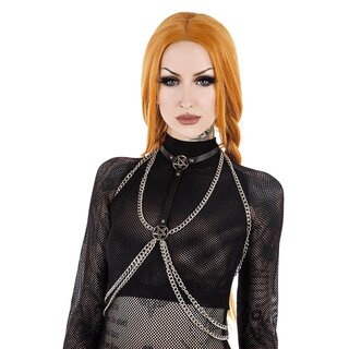 Killstar Ketten Geschirr - Kasha Chain Harness