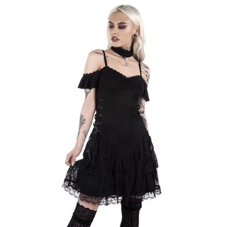 Killstar Mini Dress - Black Magic