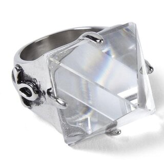 Killstar Ring - Giza Pyramid Crystal