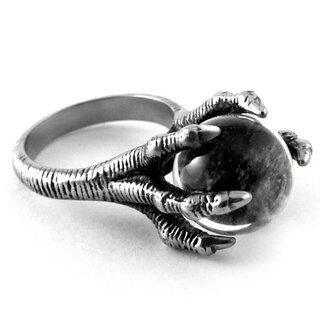 Killstar Ring - Dragon Claw Crystal
