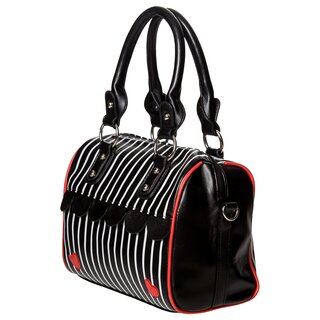 Dancing Days Bowler Handbag - Heart In Another World