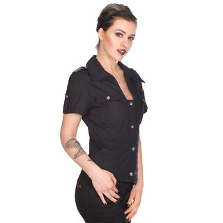 Aderlass Bluse - Military Blouse