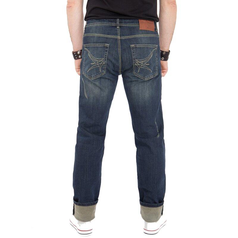 king kerosin jeans hose farmer destroyed coffee 89 90. Black Bedroom Furniture Sets. Home Design Ideas