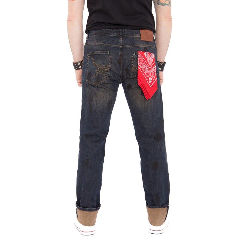 king kerosin jeans hose rust and dust w38 l32 99 90. Black Bedroom Furniture Sets. Home Design Ideas