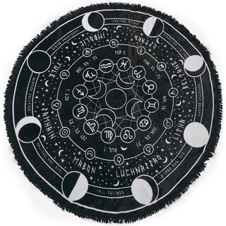 Killstar round Fleece Blanket - Pagan