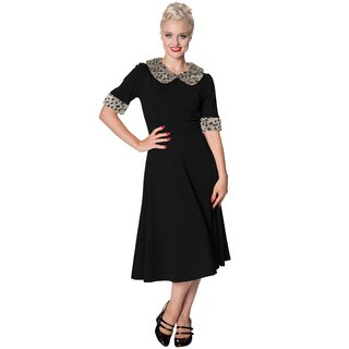 Dancing Days Vintage Dress - Caviar Black