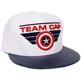 Captain America Snapback Cap - Civil War Team Cap