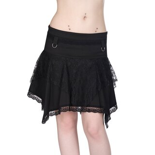 Black Pistol Mini Skirt - Freak Mini