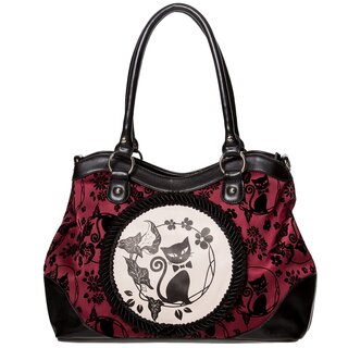 Dancing Days Handbag - Call Of The Phoenix Burgundy