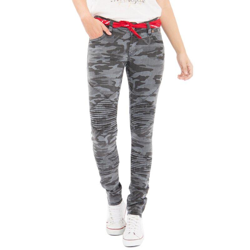Kerosin Hose 69 Camouflage Queen Grau€ 90 Jeans kuTOXwPZi