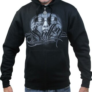 Sullen Clothing Zip Hoodie - Witness The Fall