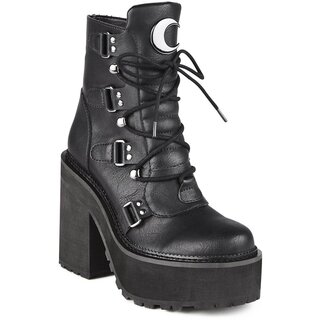 Killstar Platform Boots - Broom Rider