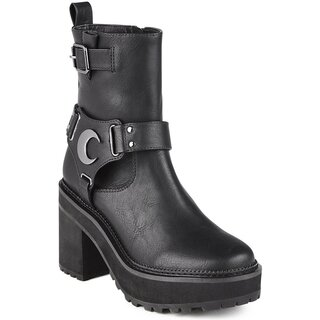 Killstar Biker Boots - Starlight