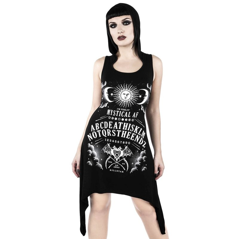 Killstar Hooded Dress - Not The End