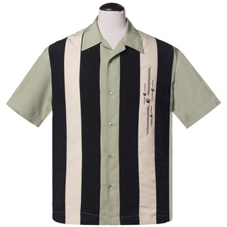Steady Clothing Vintage Bowling Shirt - The Kings Jive...