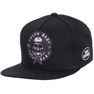 King Kerosin Snapback Cap - Born Bad, Stay Bad