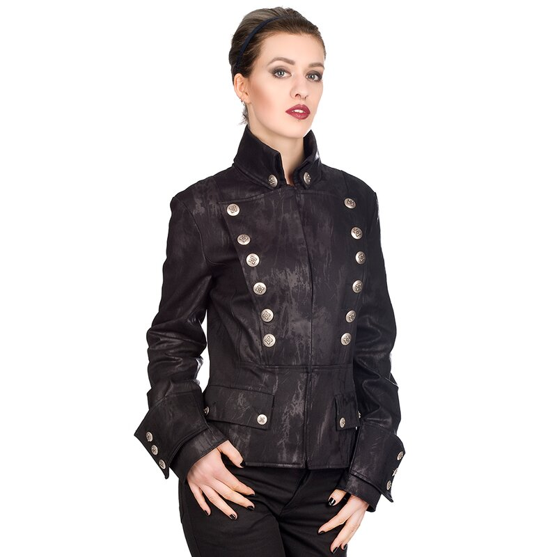 Aderlass Damen Jacke - Corsair Art Denim