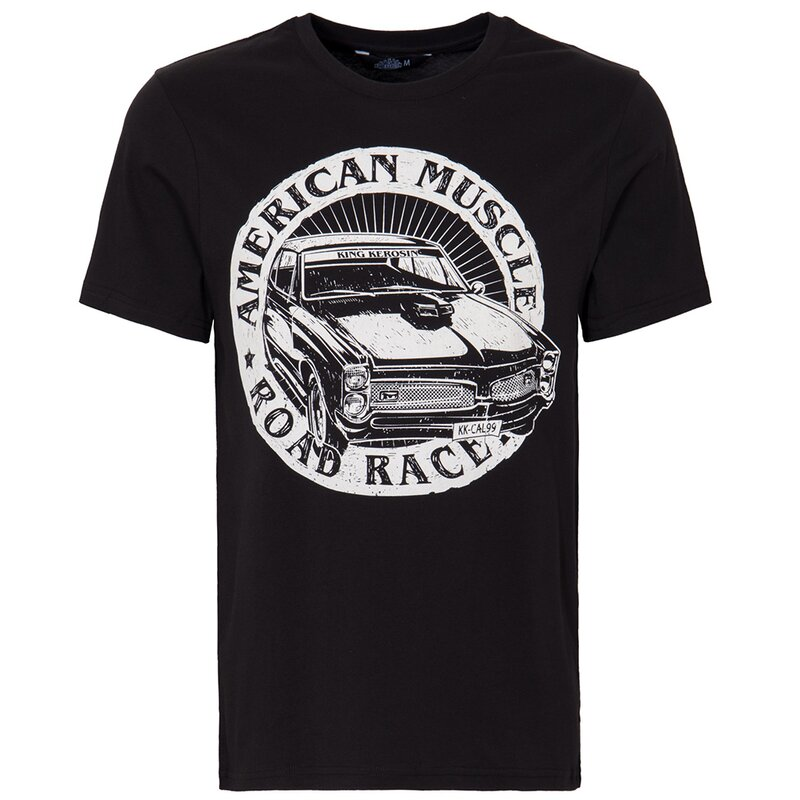 King Kerosin Regular T-Shirt - American Muscle XXL