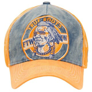 King Kerosin Trucker Cap - True Roots Orange