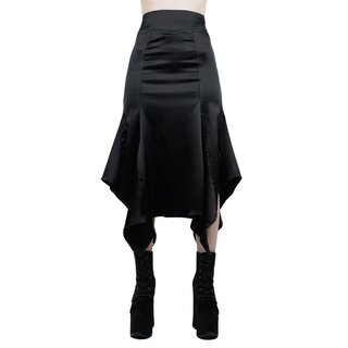 Killstar Satin Maxi Skirt - Azumi