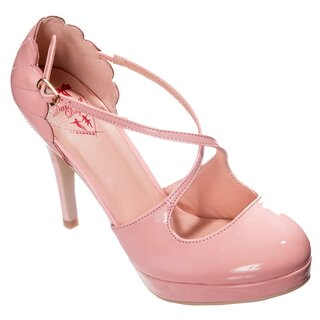 Dancing Days High Heel Pumps - Riverside Rae Pink